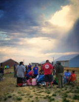 Forefront Church visiting the Arapaho tribe (Lee Kemp)